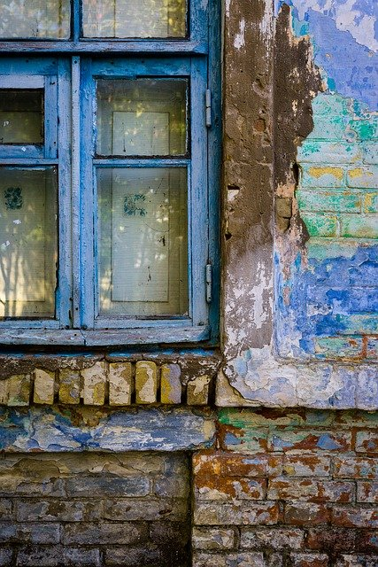 Window, House, Retro, Wall, Old House, Brick