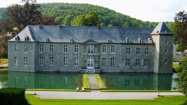 Castle, Ardennes, Wallonia, Houses, Belgium