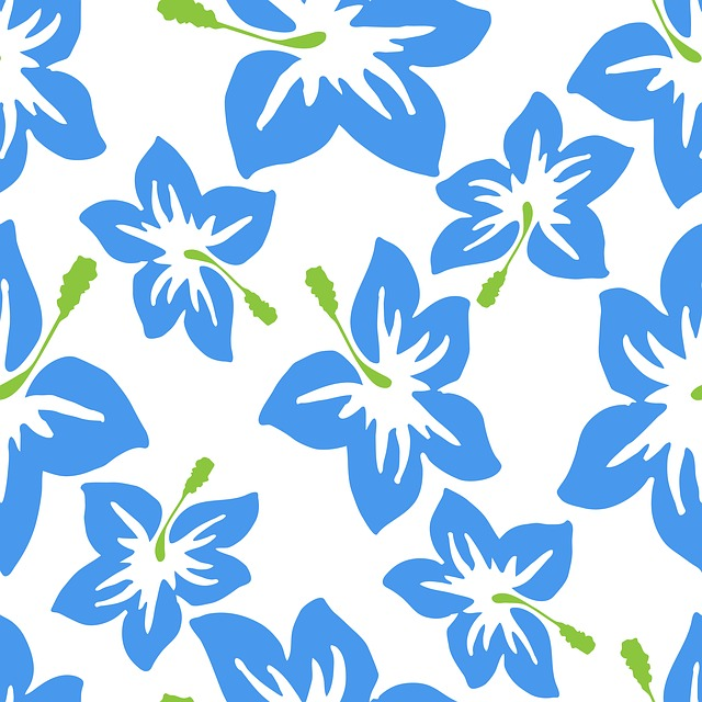 Hibiscus, Wallpaper, Flowers, Floral, Pattern, Design