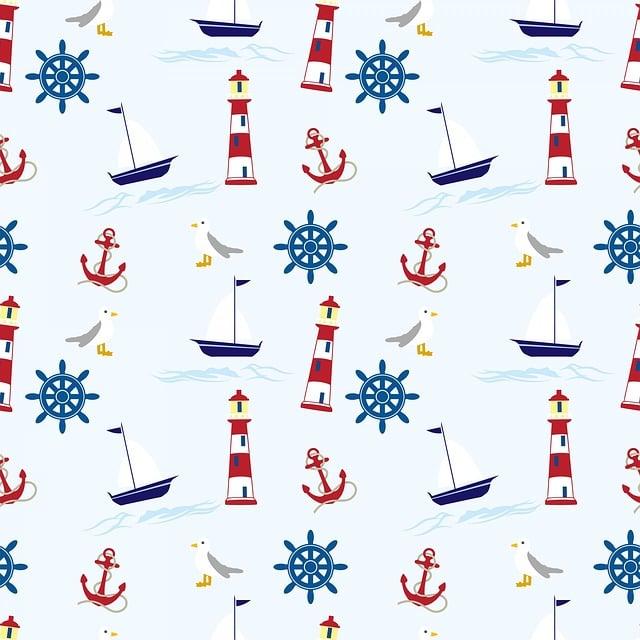 Nautical, Wallpaper, Background, Paper, Wheel