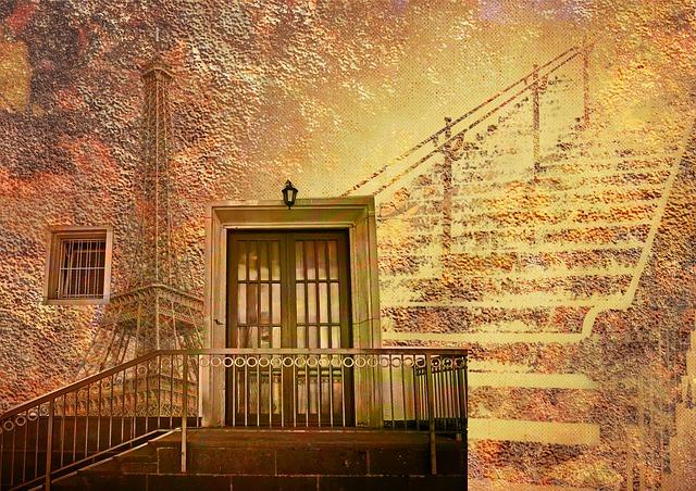 Background, Wallpaper, Door, Front Door, Stairs