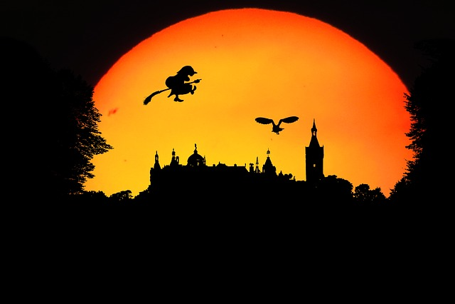 Fantasy, Walpurgisnacht, Landscape, Mystical