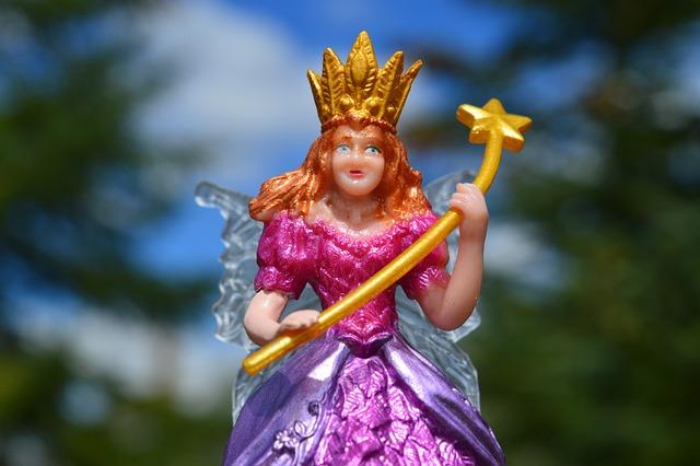 Fairy, Princess, Queen, Wand, Fantasy, Female, Crown