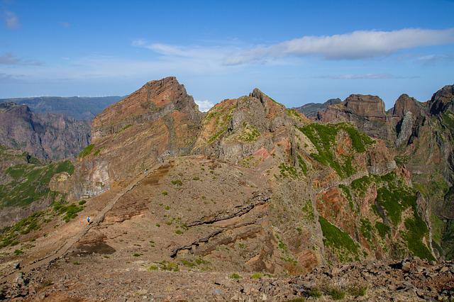 Madeira, Trail, Wanderer, Shades Of Brown, Landscape