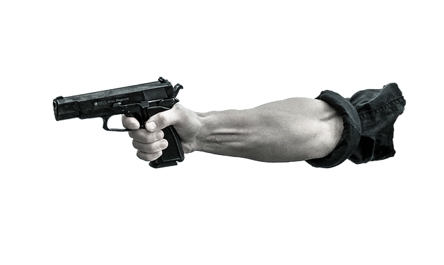 Pointing Gun, Arm, Military, War, Gun, Weapon, Pistol