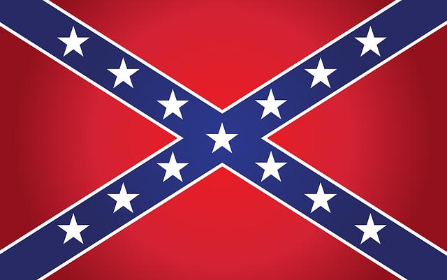 Flag, Confederate, Southern, War, Civil, American
