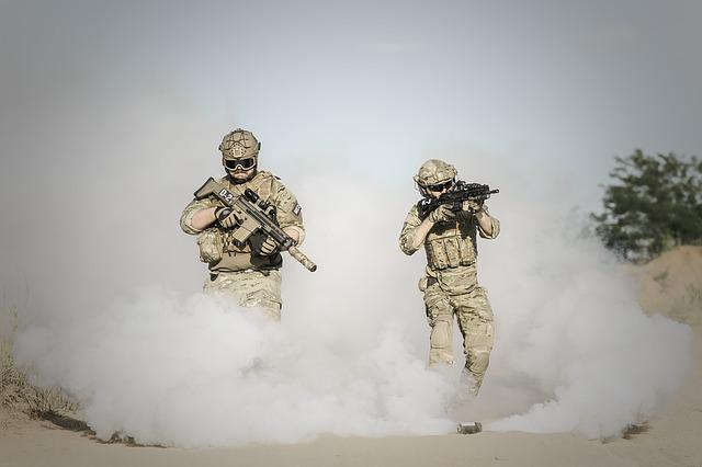War, Desert, Guns, Soldier, Action, Smoke, Terrorist