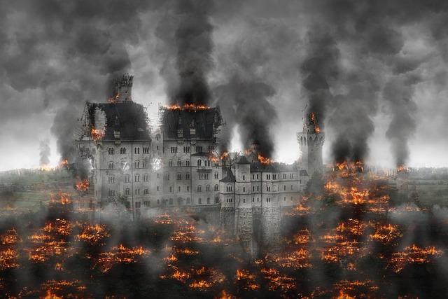 Destruction, War, Conflict, Explosive, End Of Days