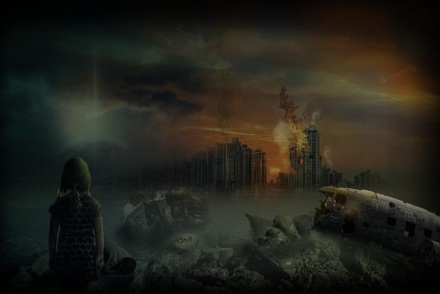 Destruction, War, Helplessness, Misery, Apocalypse