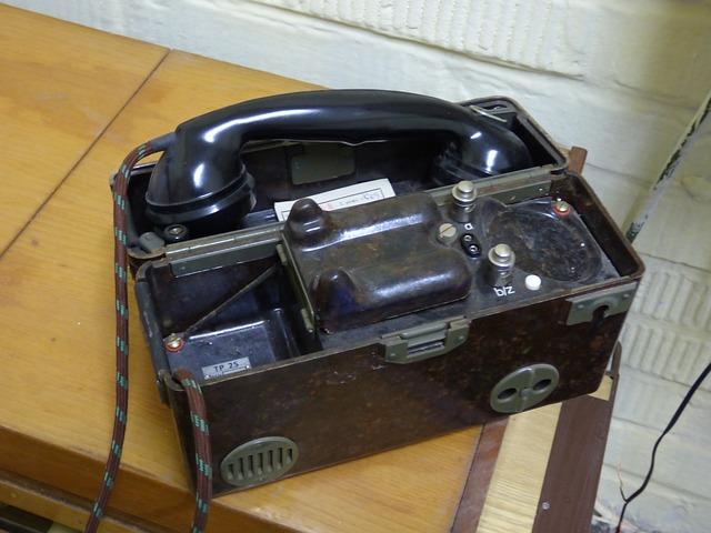Phone, Half Of The Headquarters, Telephone, Alarm, War