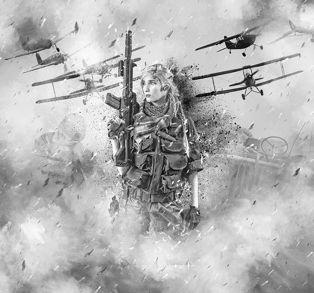 War, Soldier, Woman, Female, Person, Human, Planes