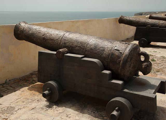 Guns, Fortress, Ramparts, War