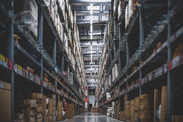 Store, Stacks, Shelves, Stock, Warehouse, Supermarket
