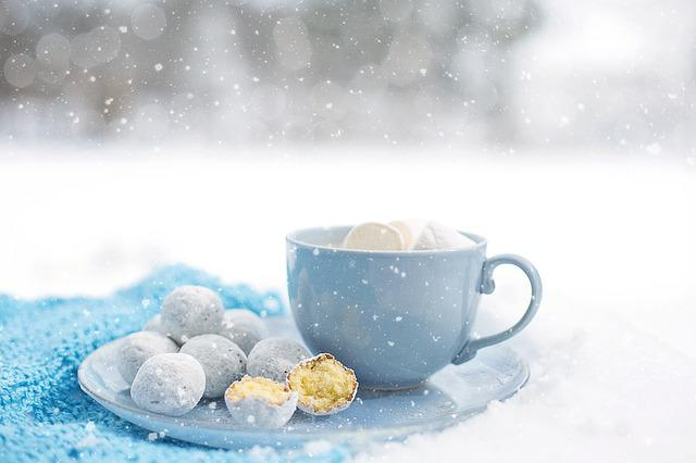 Hot Chocolate, Cozy, Winter, Dessert, Warm, Snow, Mug