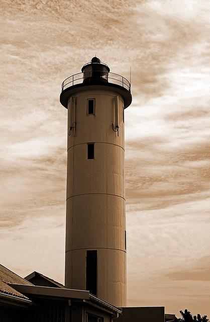 Lighthouse, Beacon, Landmark, Nautical, Light, Warning