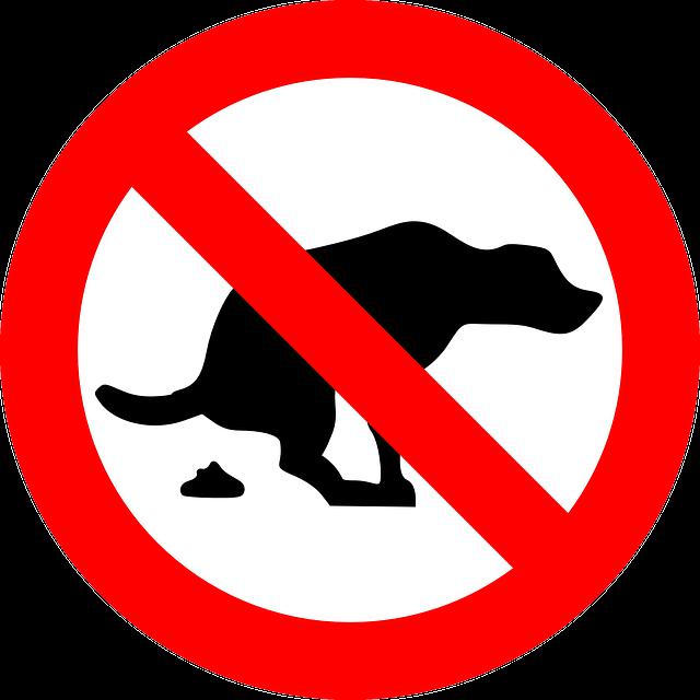 Dogs, Prohibited, Warning, Crap, Shit, No