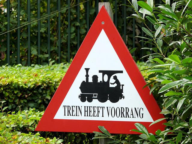 Warning Sign, Train, Efteling