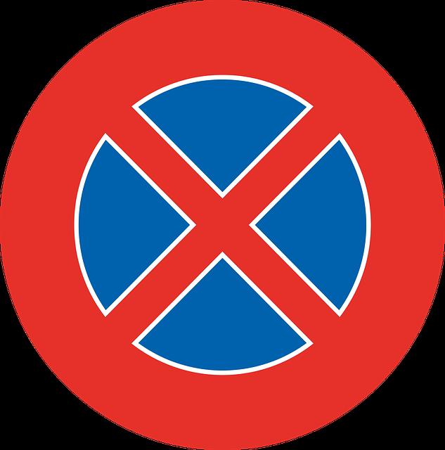 Stopping, Risk, Warning, Street Sign, Traffic