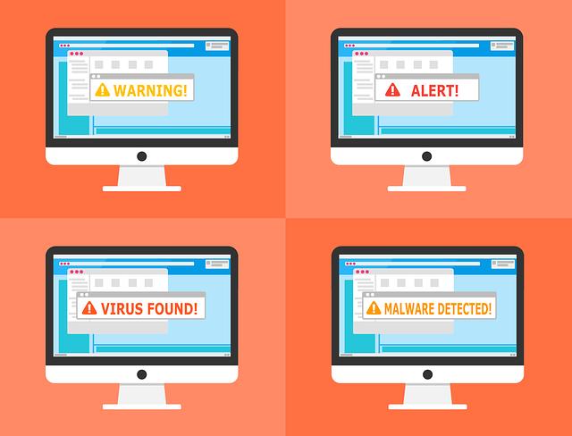 Warning, Alert, Detected, Malware, Security, Virus