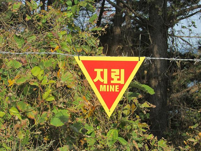 Signs, Warning, Land Mines, Risk, Small Global, War