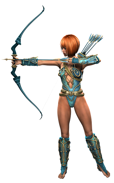 Amazone, Woman, Warrior, Heroine, Fantasy, Beauty