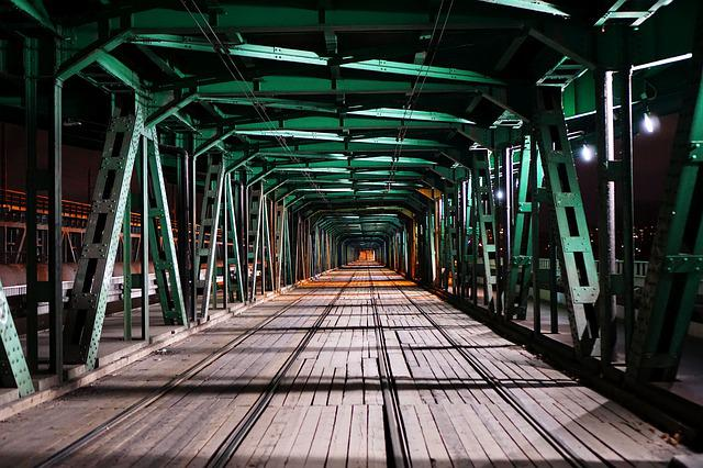 Warsaw, Bridge, Truss, River, Wisla, Poland, City
