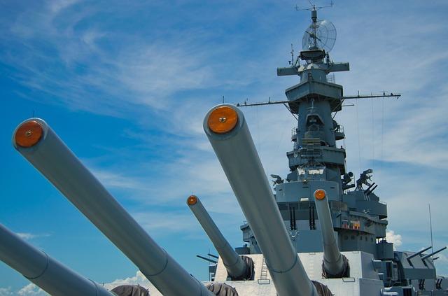 Uss Alabama, Warship, Navy, America, Ocean, Armed