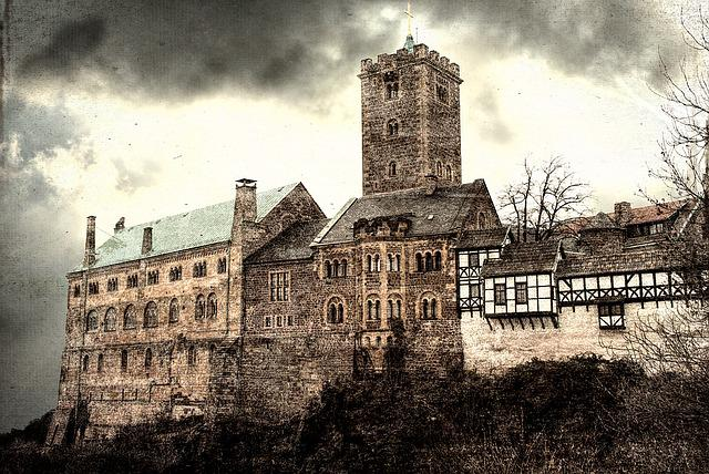 Eisenach, Wartburg Castle, Thuringia Germany, Castle