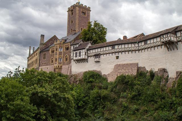 Thuringia Germany, Castle, Wartburg Castle, Eisenach