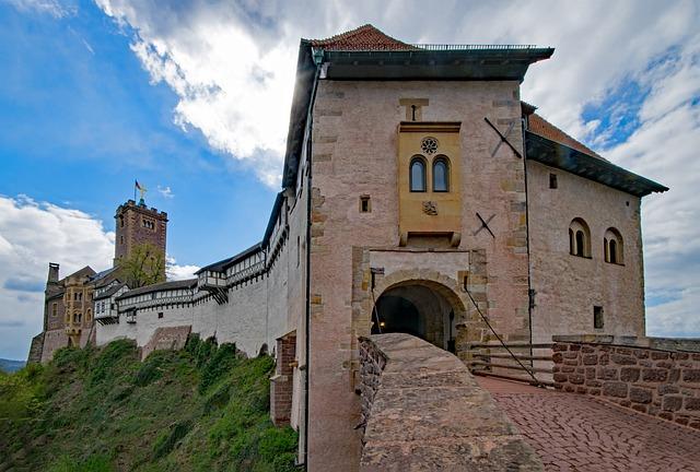 Wartburg Castle, Eisenach, Thuringia Germany, Germany