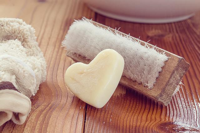 Wash Brush, Hand Brush, Soap, Heart Soap, Washcloth