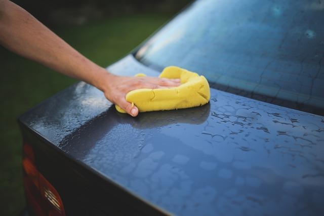 Cleaning, Washing, Carwash, Sponge, Car, Auto, Hand