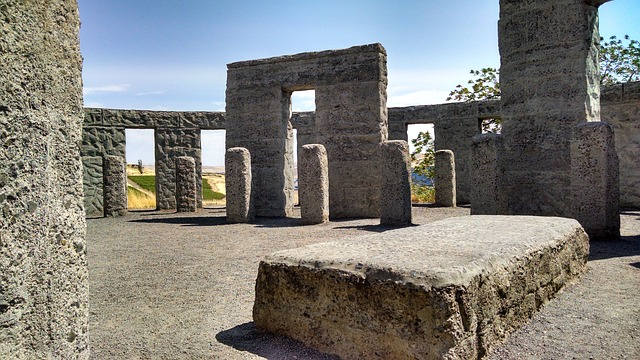 Stonehenge, Maryhill, Washington, Memorial, Columbia