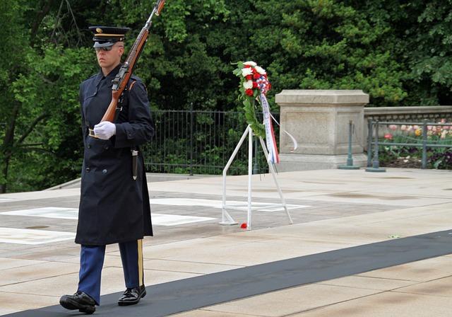 Memorial, Washington Dc, America, Unkown Soldier