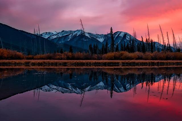 Washington, Landscape, Scenic, Sunset, Dusk, Evening