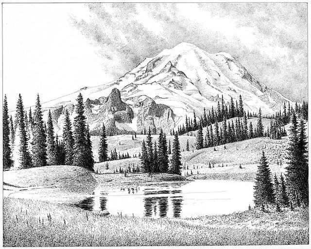 Mount Rainier, Cascades, Washington, Rainier, Volcano