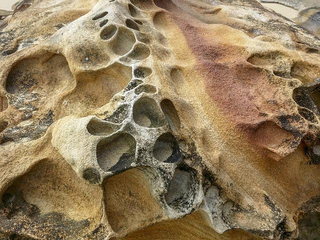 Rock, Sandstone, Washout, Nature, Shoreline, Beach