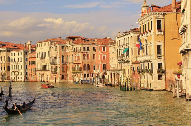 Canale Edge, Venice, Wassserstrasse
