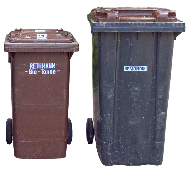 Dustbin, Garbage Can, Waste Container, Ton Of Plastic