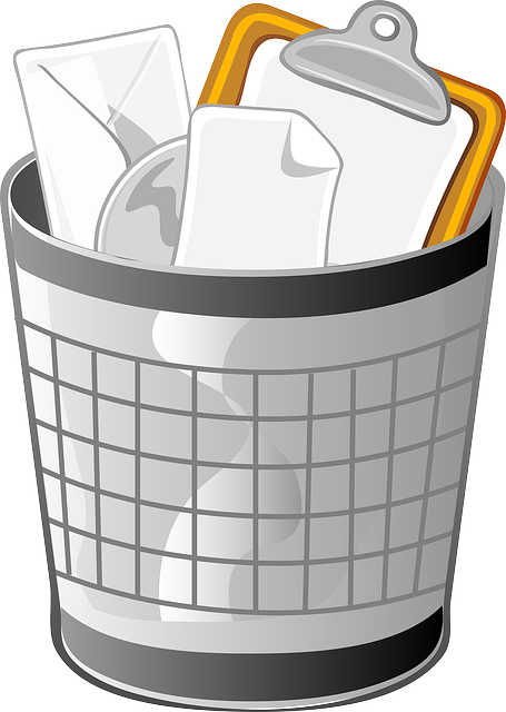 Trash Can, Wastebasket, Receptical, Container, Waste