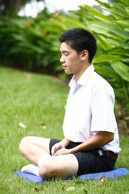 Meditation, Buddhist, Boy, Meditate, Wat, Temple