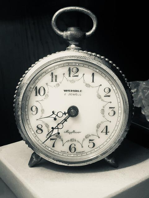 Time, Clock, Watch, Timer, Minute, Vintage, Antique