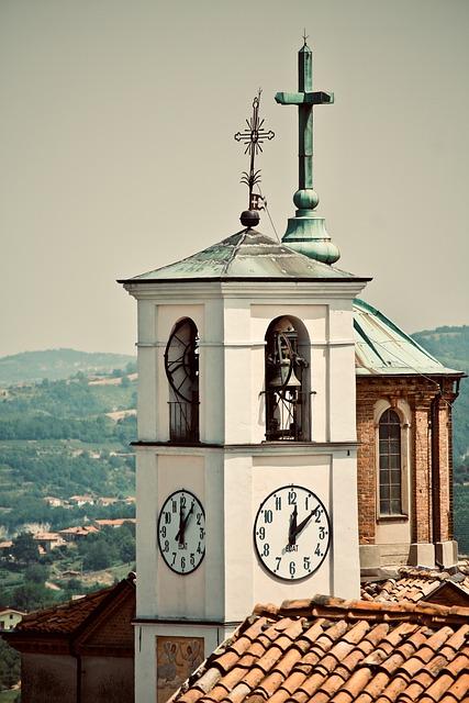 Campanile, Church, Watch, Architecture, Construction