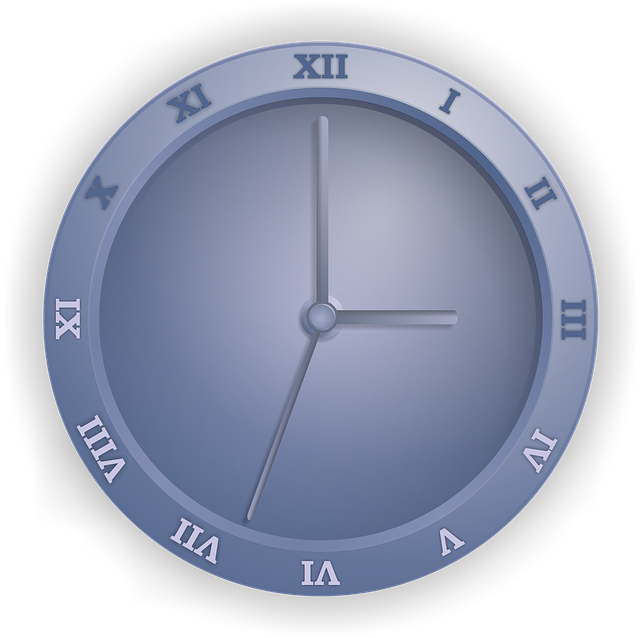 Watch, Time, Alarm Clock, Blue, Pointers