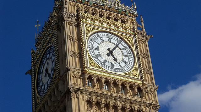 Big Ben, London, Watch, Thames