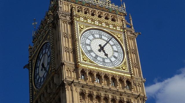 Big Ben, London, Watch, Thames