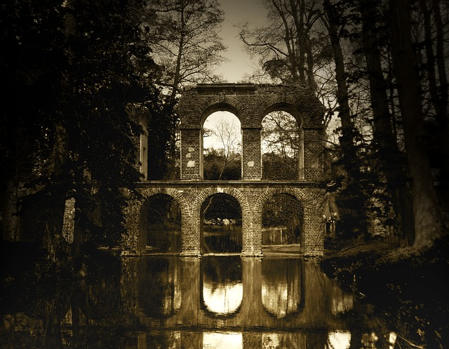 Bridge, Aqueduct, Architecture, Water, Reflection