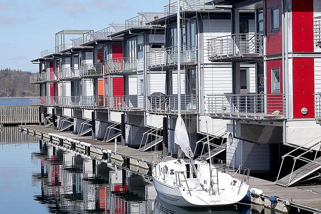 Water House, Water, Boot, Web, Port, Yacht, Baltic Sea