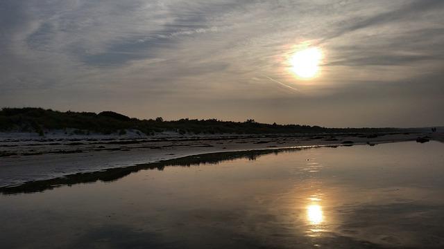 Beach, Sunset, Water, Boot, Sea, Abendstimmung, Lake
