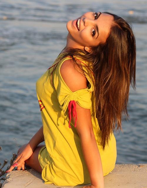 Girl, Water, Smile, Bfe, Brown Eyes, Summer, Beauty